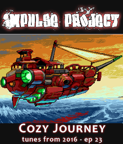 impulse project demoscene chiptune podcast protracker mod sid commodore 64 C64 Amiga Cozy Journey